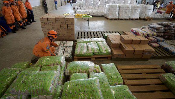 La oposición aseguró que ni estas 800 toneladas de ayuda ni la que está otorgando la Cruz Roja son suficientes. (Foto referencial: AFP)