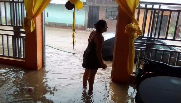 Lluvias en Piura. (Foto: GEC)