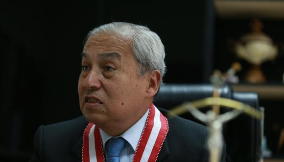 Las cámaras de seguridad muestran que Pedro Chávarry ingresó al noveno piso a las 12:23 p.m. (Foto: GEC)