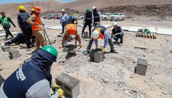 El Ministerio de Vivienda,Construcción y Saneamiento señaló que al atención a los damnificados se da a través de la Reconstrucción con Cambios. (Facebook)