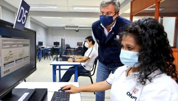 ONPE publicó la resolución para adjudicar fondos para la franja electoral para Perú Libre y Fuerza Popular. (Foto: Andina)