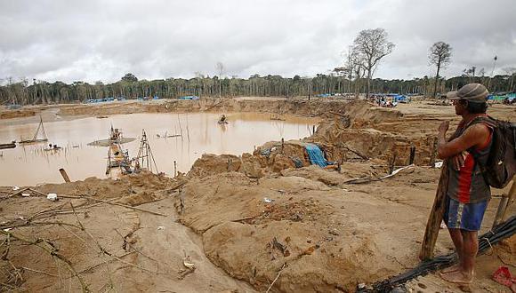 Madre de Dios pierde alrededor de US$80 millones cada año por canon minero, sostuvo Hidalgo Okimura. (Foto: GEC)