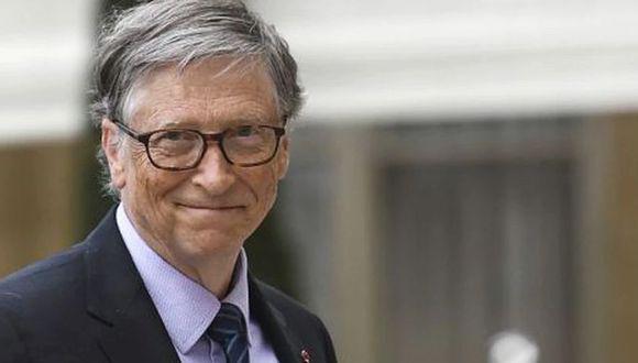 """""""Esas son las que se pueden aplicar a gran escala con más facilidad y de bajo costo"""", dijo Bill Gates. (Foto: AFP)"""