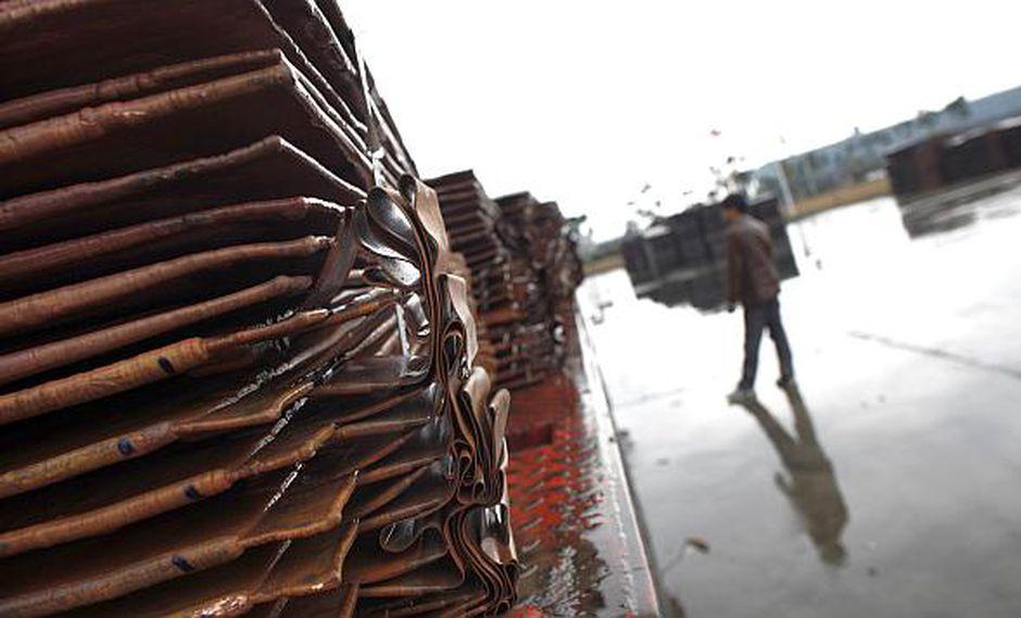 El precio del cobre operaba al alza este viernes. (Foto: Reuters)