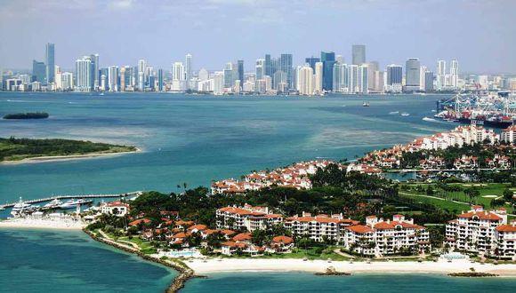 FOTO 10 | 1. Fisher Island, Florida. Sabemos que esta no es una ciudad sino una isla al sur de Miami Beach. Sin embargo, vamos a mantener la mente abierta: lo que fue una vez el refugio privado de la familia Vanderbilt ahora es el código postal más rico de los Estados Unidos.