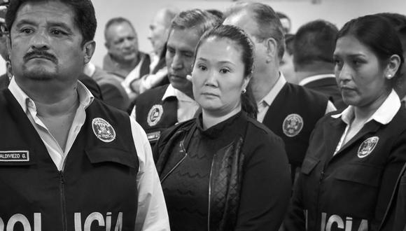 Keiko Fujimori volverá a la cárcel nuevamente por el caso Odebrecht. (Foto: GEC)