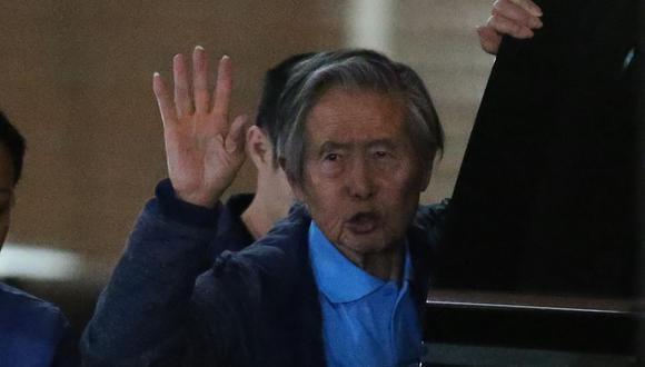 Alberto Fujimori cumple una condena de 25 años de prisión por violaciones a los derechos humanos. (Foto: Luka Gonzales / GEC)