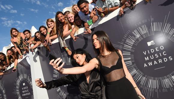 Entre Kylie y Kendall Jenner suman 266 millones de seguidores en Instagram. (Foto: AFP)