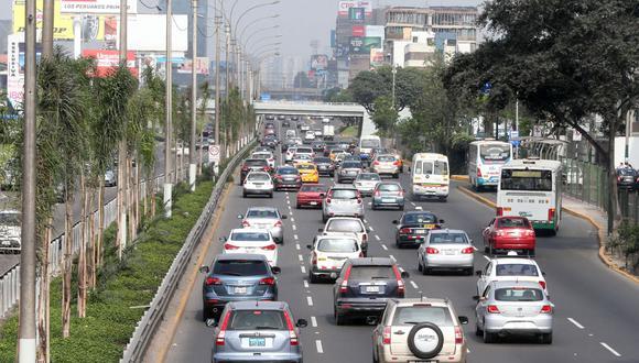 La restricción vehicular iniciará el jueves a las 8:30 p.m. en Miraflores. (Foto: César Campos)