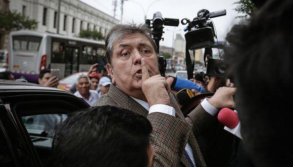 Alan García acudió a la fiscalía en varias oportunidades. En noviembre ocurrió la más polémica, cuando se suspendió un interrogatorio cuando llegó información sobre pagos del 2012 relacionados con Odebrecht. (Foto: GEC)
