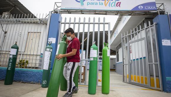 Ciudadanía de Lima centro y sur serán beneficiadas con la instalación de dos plantas de producción de oxígeno medicinal que abastecerá de forma gratuita el llenado de balones. (Foto: MML)