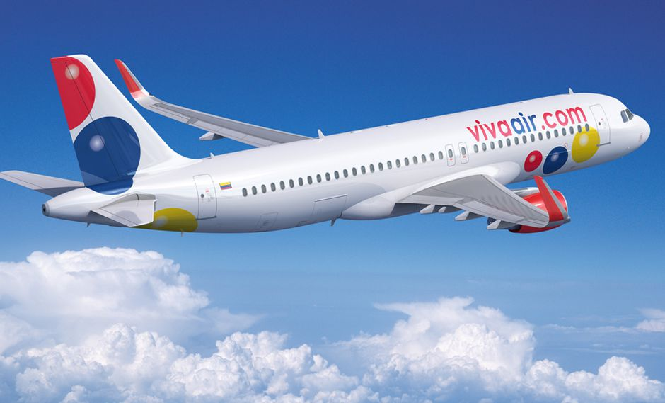 Foto 1 | La aerolínea de bajo costo, Viva Air, llegará el próximo mes de abril a Cajamarca y Tacna desde Lima con vuelos diarios. El objetivo al cierre del año es llegar a transportar más de 80 mil clientes en cada ruta, y se espera que las tarifas se reduzcan en un 40%. La suma de estas rutas se debe a la reciente incorporación de tres aeronaves nuevas en el país. (Foto: Airbus)