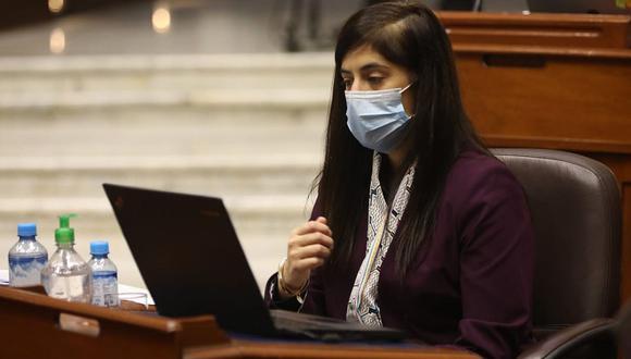 María Antonieta Alva afrontaría una moción de censura en el Parlamento. (Foto: Congreso)