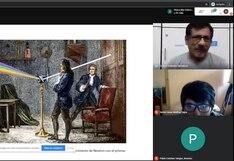 Escuela Bellas Artes y su apuesta por talleres virtuales