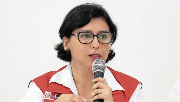 Sylvia Cáceres Pizarro, ministra de Trabajo. (Foto: GEC)