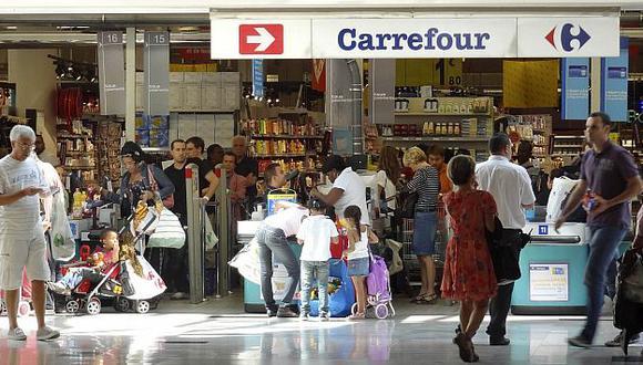 Carrefour quiere cuidar mercados clave como Francia, Brasil y China. (Reuters)