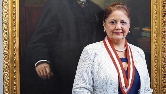 Trayectoria. Luz Eyzaguirre comenzó su labor en la UNI como jefa de prácticas. (Foto: Difusión)