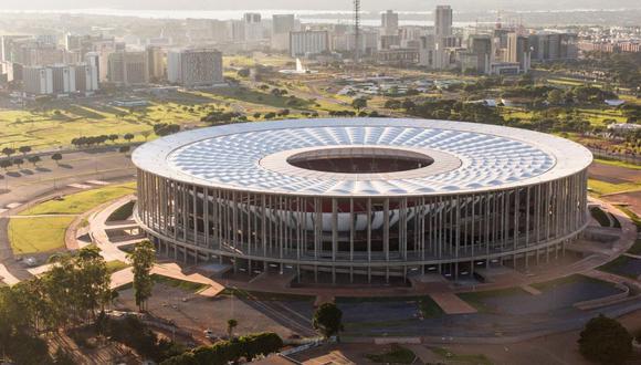 """El """"espectáculo"""" arrancará en el estadio Mané Garrincha de Brasilia con el partido entre Brasil y Venezuela después de dos semanas convulsas que pusieron en riesgo la celebración del certamen. (Foto: Agencias)"""