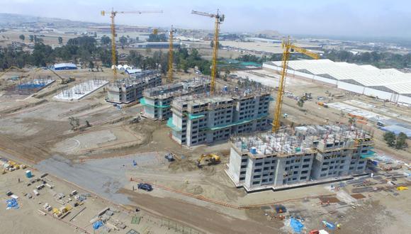 El Proyecto Especial para los XVIII Juegos Panamericanos 2019 (PEJP) aprobó la modificación del cronograma de ejecución de proyectos en el Plan Maestro de Infraestructura (Foto: Andina).