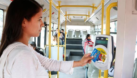 Gobierno anuncia que continuará la implementación del sistema de pago con tarjeta única en el transporte de Lima y Callao. (Foto: Archivo/Difusión)