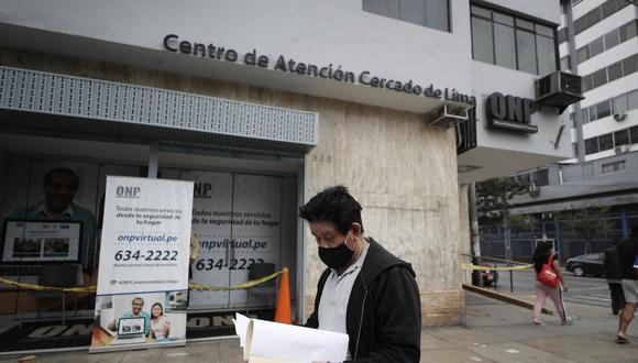 Más de 560,000 jubilados de la ONP recibirán un bono de S/ 930. (Foto: Cesar Campos / GEC)