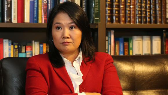 """""""He sido transparente desde el primer momento [sobre el indulto]. Si soy elegida, no será una sorpresa para nadie"""", señaló Keiko Fujimori."""