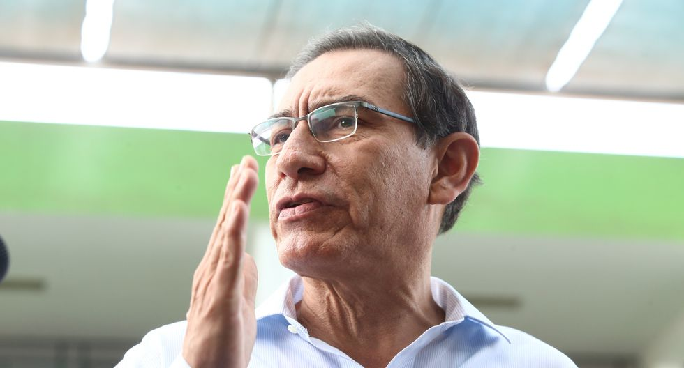 Martín Vizcarro dijo hoy que su gobierno ya está haciendo un cambio en el sector Agricultura. (Foto: Alessandro Currarino / GEC)