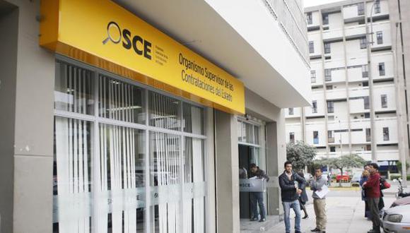 El Organismo Supervisor de las Contrataciones del Estado (OSCE) es la entidad encargada de velar por el cumplimiento de las normas en las adquisiciones públicas del Estado peruano. (Foto: USI)