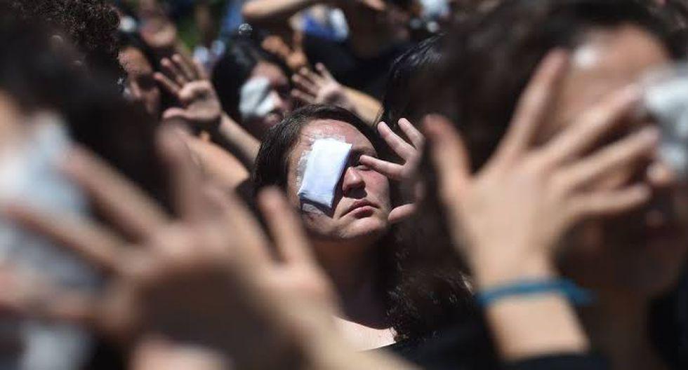 Los manifestantes esperaban que el paro aumentara el costo económico de los disturbios, aumentando la presión sobre el gobierno para que ceda ante exigencias de una mejor atención médica, educación, pensiones y transporte. (Foto: Bloomberg)