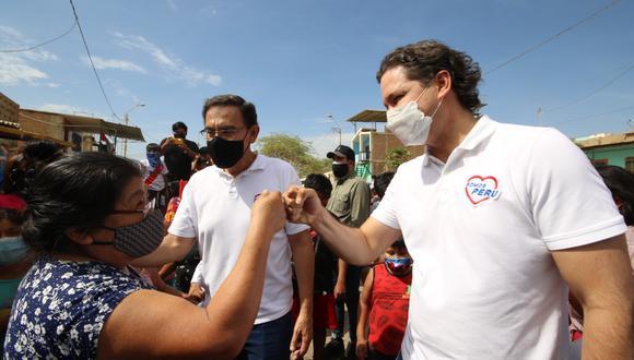 Daniel Salaverry cuestionó decisión del Poder Judicial de no autorizar viaje de Martín Vizcarra. (Foto: Somos Perú)