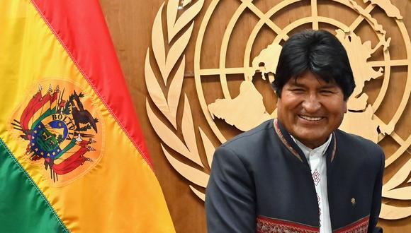 Evo Morales. (AFP / Angela Weiss).