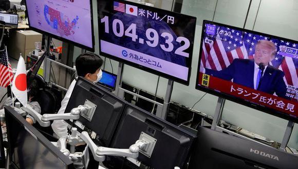 La oferta neta global —el total de emisiones de acciones, restándole las exclusiones de bolsa y las recompras— totalizó US$ 320,000 millones en los primeros 10 meses del 2020, lo que implica un total de US$ 380,000 millones en todo el año, según estima Panigirtzoglou, que ha seguido de cerca la tendencia de un indicador que mide el volumen de acciones en todo el mundo. (Foto: REUTERS/Kim Kyung-Hoon)