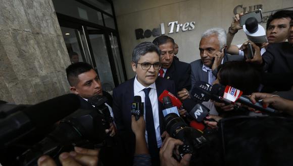 El fiscal José Domingo Pérez encabezó el allanamiento a la sede de Confiep el año pasado por el caso Odebrecht. (Foto: GEC)
