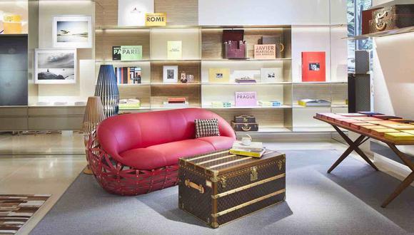 Librería Louis Vuitton en Saint-Germain-des-Prés, París. (Foto: Difusión)