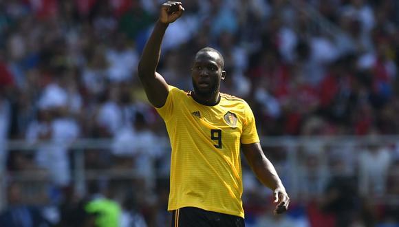 El 'nueve' de Bélgica ya anotó cuatro goles en Rusia 2018. (Foto: AFP)
