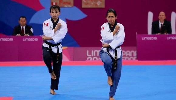 Ariana Vera y Renzo Saux se colgarán la medalla de bronce en Lima 2019. (Foto: @ipdcomunicacion)