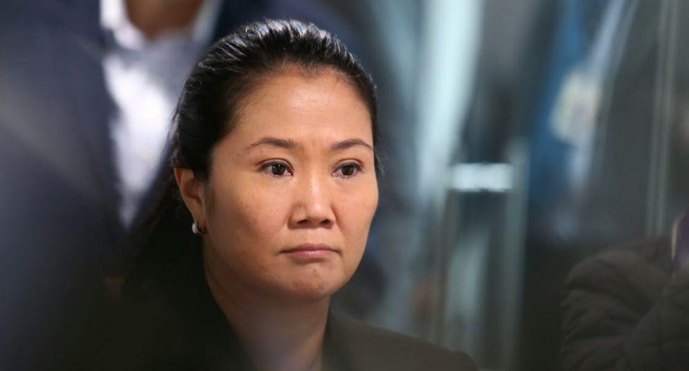 Keiko Fujimori cumple 36 meses de prisión preventiva en el marco del caso Odebrecht. (Foto: GEC)