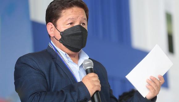 Guido Bellido aseguró que se debe descentralizar los fondos para los medios de comunicación. (Foto: PCM)