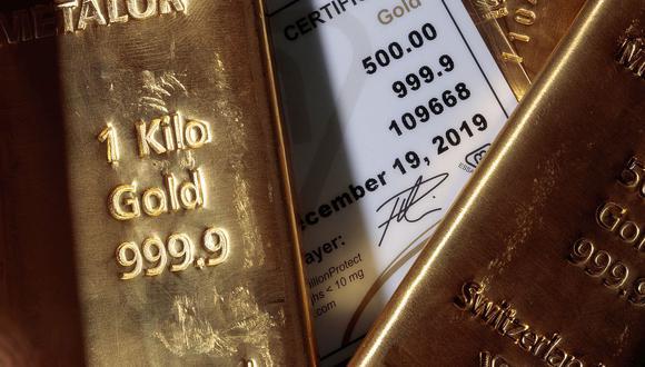 Los futuros del oro en Estados Unidos cedían un 0.1%, a US$ 1,907.50 la onza. (Foto: AFP)