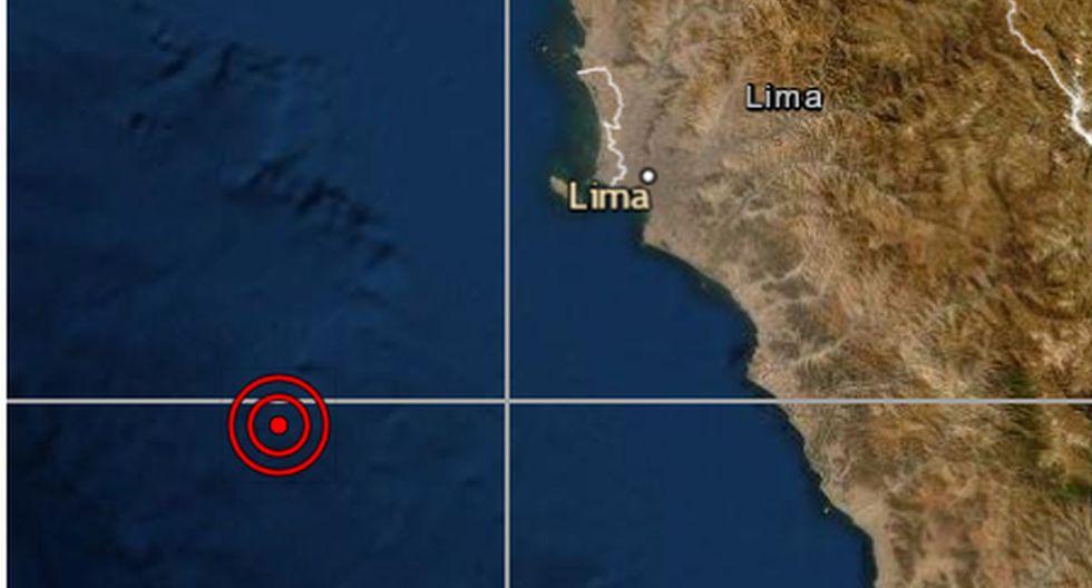 Sismo de magnitud 4,7 se reportó en el Callao, señaló el IGP