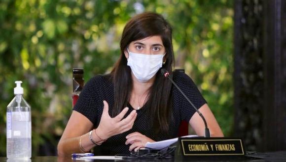 María Antonieta Alva, ministra de Economía y Finanzas. (Foto: SEPRES)