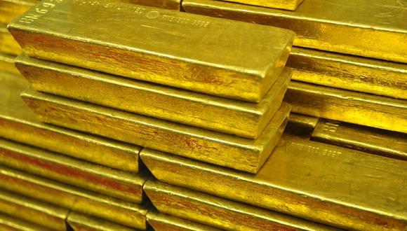 Los futuros del oro en Estados Unidos sumaban un 1.5% a US$ 1,826 la onza este jueves. (Foto: AFP)