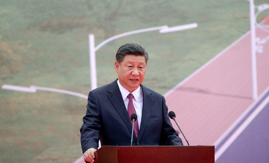 El mandatario chino se refirió a la guerra comercial contra Estados Unidos desde el Foro APEC. (Foto: AFP)