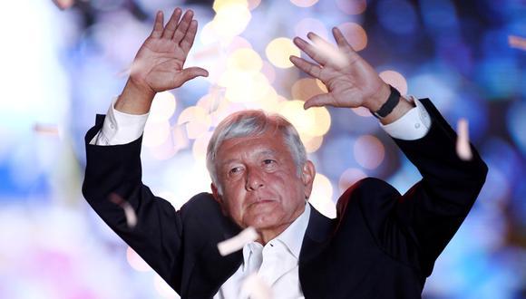 López Obrador lidera en todas la encuestas de intención de voto para las elecciones de México. (Foto: Reuters)
