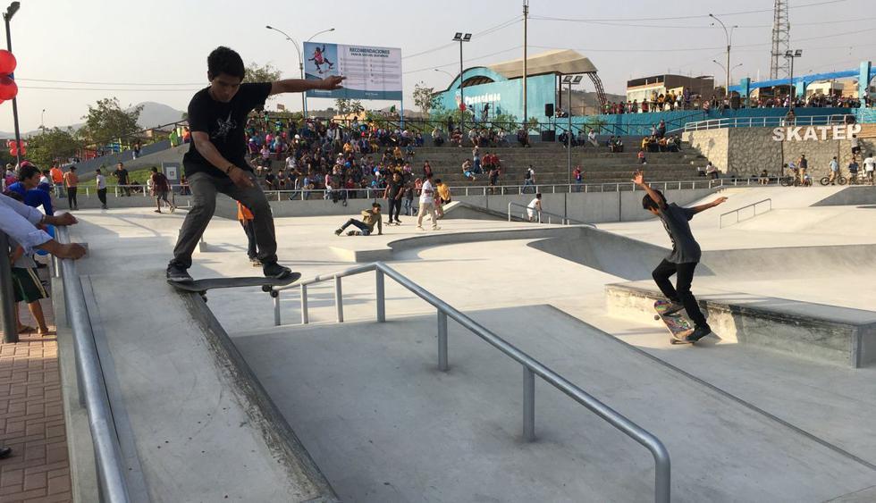 Se planea usar el nuevo skatepark en campeonatos nacionales e internacionales. (Foto: Difusión)