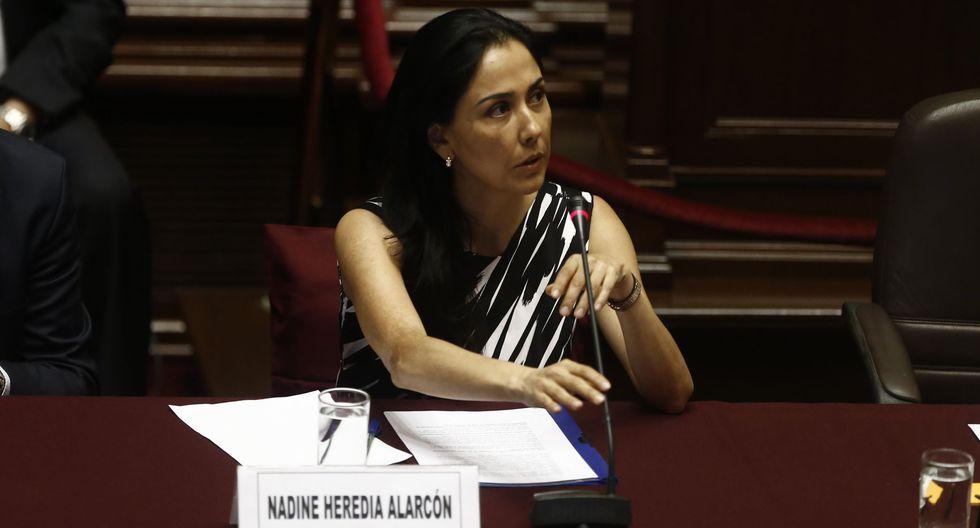 Nadine Heredia es investigada por el presunto delito de colusión en el caso Gasoducto. (Foto: GEC)