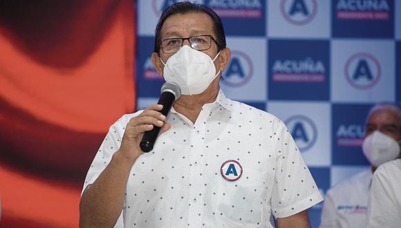 Eduardo Salhuana indicó que si bien la Asamblea Constituyente es una propuesta de Perú Libre de su campaña electoral, existirían otros temas urgentes. (Foto: GEC)