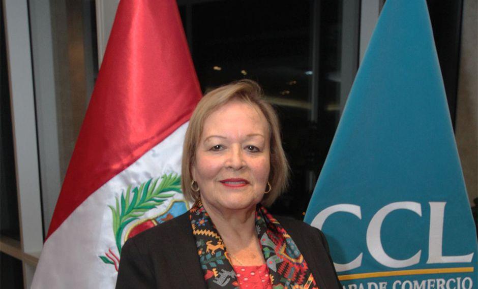 Yolanda Torriani, presidenta de la CCL. (Foto: CCL/Difusión)