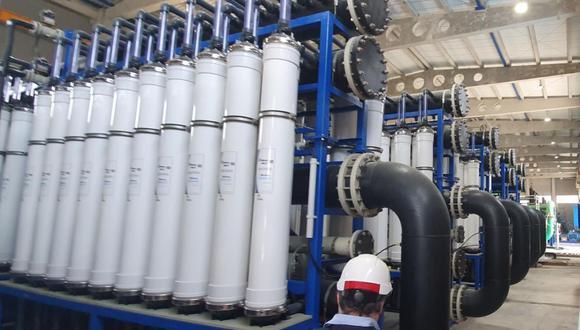 Primera planta desalinizadora