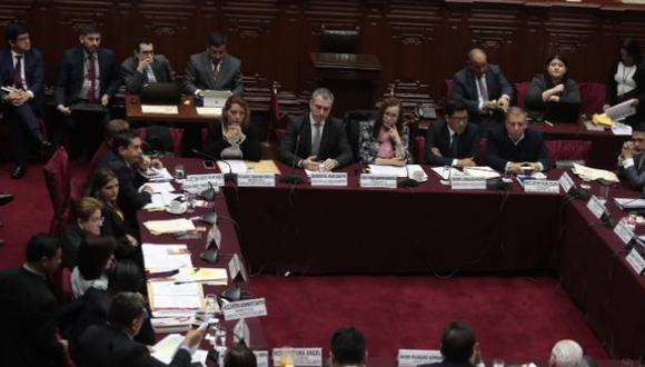 La Comisión de Constitución sesionó con el presidente del Consejo de Ministros, Salvador del Solar. (Foto: Hugo Pérez / GEC)